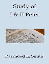 Boek cover Study of I & II Peter van Raymond E Smith