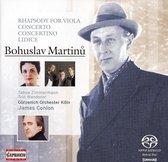 Martinu: Conc .For Piano Trio & String Orch., ...