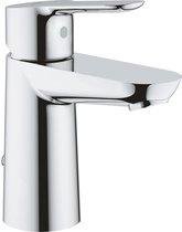 GROHE BauEdge Wastafelkraan - koud en warm water - met stopketting - chroom - 23329000