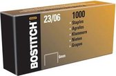 Bostitch nietjes 23-6-1M 6 mm verzinkt voor PHD60 B310HDS HD-23L17