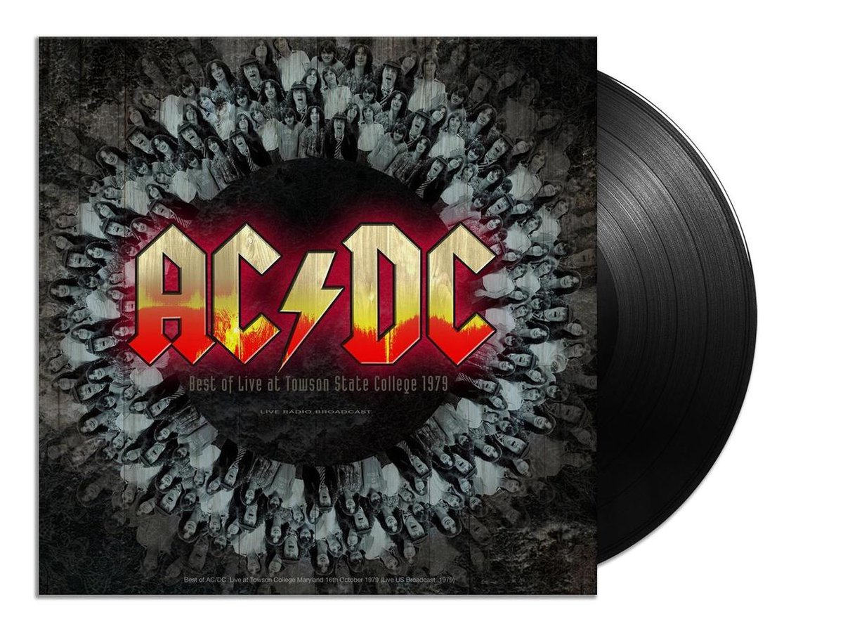 Best Of Live At Towson State College (LP) - AC/DC