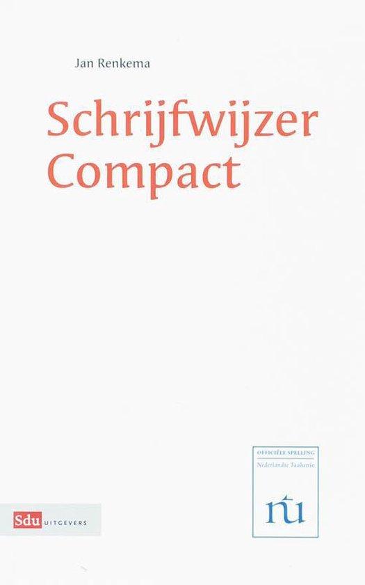 Schrijfwijzer Compact - Jan Renkema |