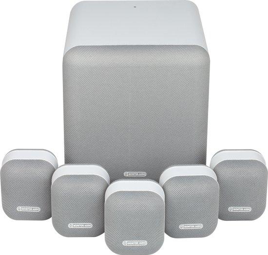 Monitor Audio Mass 5.1 2G - 5.1 Compacte Surround Home Cinema Set - Wit
