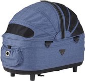 Airbuggy reismand hondenbuggy dome2 m cot earth blauw 67x33x51 cm