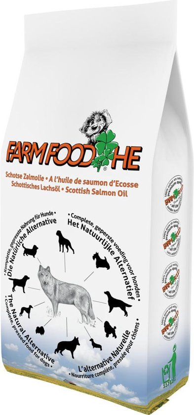 Farmfood High Energy - Schotse Zalmolie - Hondenvoer -15 kg