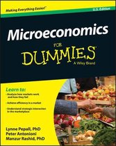 Boek cover Microeconomics For Dummies van Lynne Pepall (Paperback)