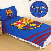 FC Barcelona Dekbedovertrek - Eenpersoons - 140x200 cm