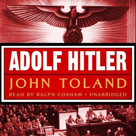 Boek cover Adolf Hitler van John Toland (Onbekend)