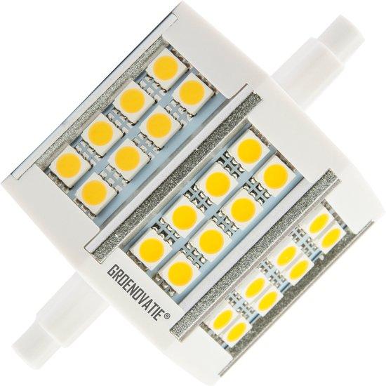 Groenovatie LED Lamp R7S Fitting - 5W - 78x22x31 mm - Warm Wit - Groenovatie