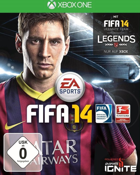 Electronic Arts FIFA 14, Xbox One video-game Basis