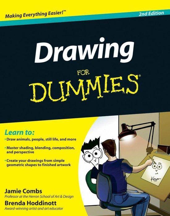 Boek cover Drawing For Dummies van Brenda Hoddinott (Onbekend)