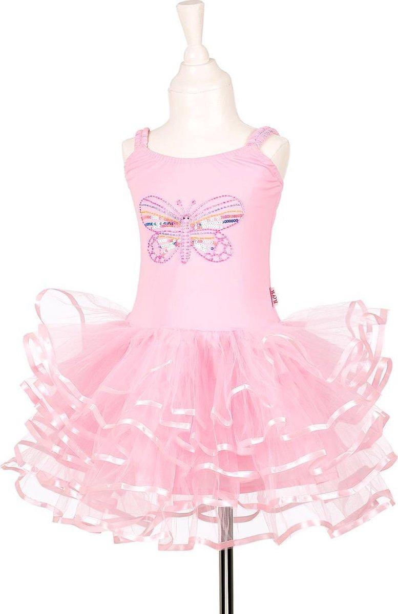 Floraline prinsessenjurk jurk, roze, 5-7 jr / 110-122 cm