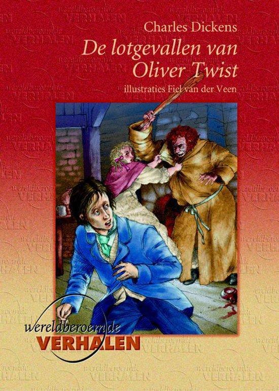 Cover van het boek 'De lotgevallen van Oliver Twist' van Charles Dickens