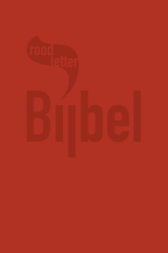 Roodletterbijbel - Roodletterbijbel - Diverse auteurs |