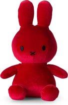 "nijntje Velvet knuffel rood - 23 cm - 9"""
