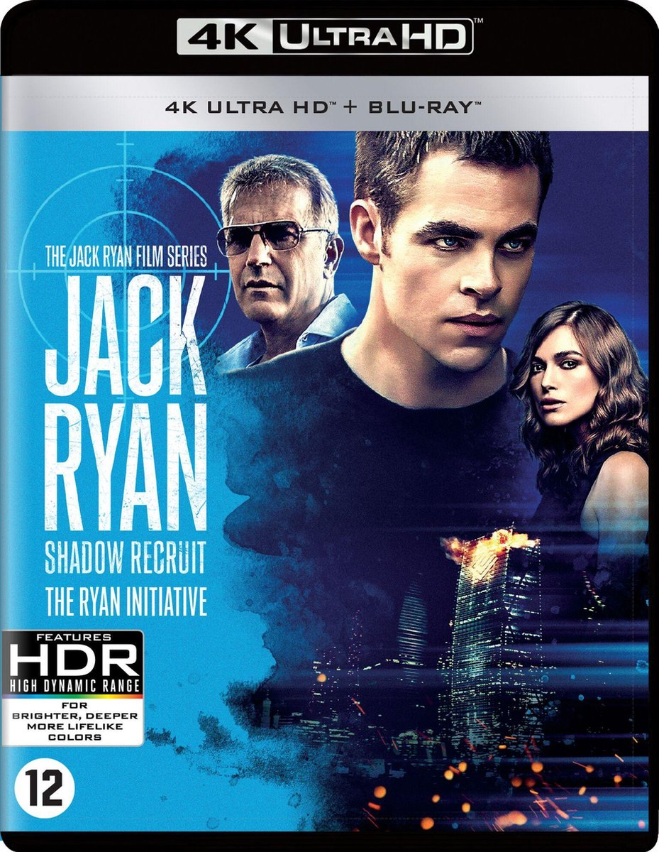 Jack Ryan: Shadow Recruit (Ultra HD Blu-ray)-