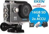 EKEN Action Camera H9R 4K Ultra HD + Wifi + 23 acc