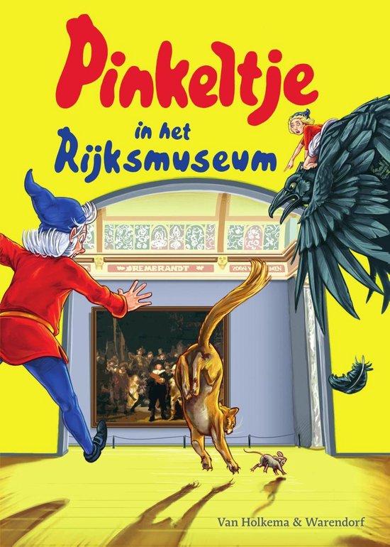 Pinkeltje 32 - Pinkeltje in het Rijksmuseum - Studio Dick Laan  