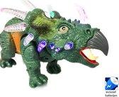 DINOSAURUS speelgoed - CERATOPIA - met licht en Dino geluid 35CM (incl. batterijen)