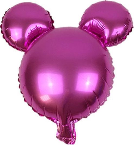 Folieballon Mickey Roze