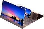 Vergrootglas voor smartphone - Donkerbruin - Geschikt voor elk type smartphone