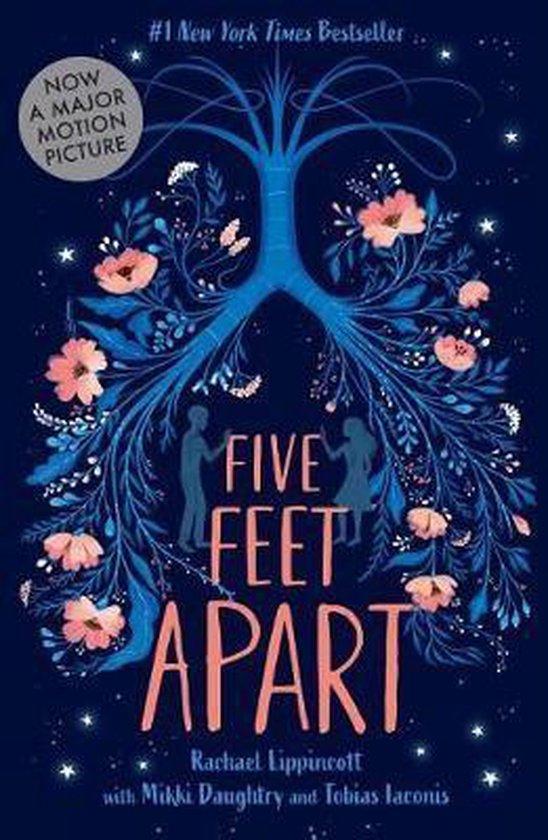 Boek cover Five Feet Apart van Rachael Lippincott (Hardcover)