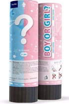 Babyshower gender reveal partypopper Meisje