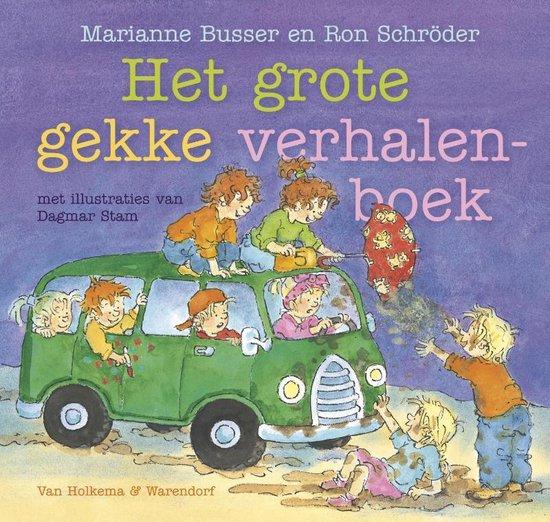 Het grote gekke verhalenboek - Marianne Busser  