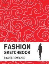 Fashion Sketchbook with Figure Template