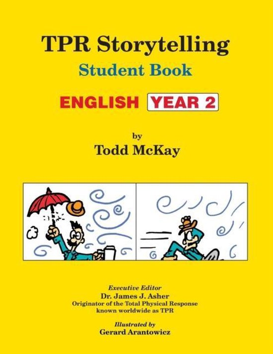 TPR Storytelling Student Book - English Year 2