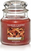 Yankee Candle Medium Jar Geurkaars - Cinnamon Stick