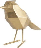 Present Time Decoratief Beeld Origami Vogel large - goud