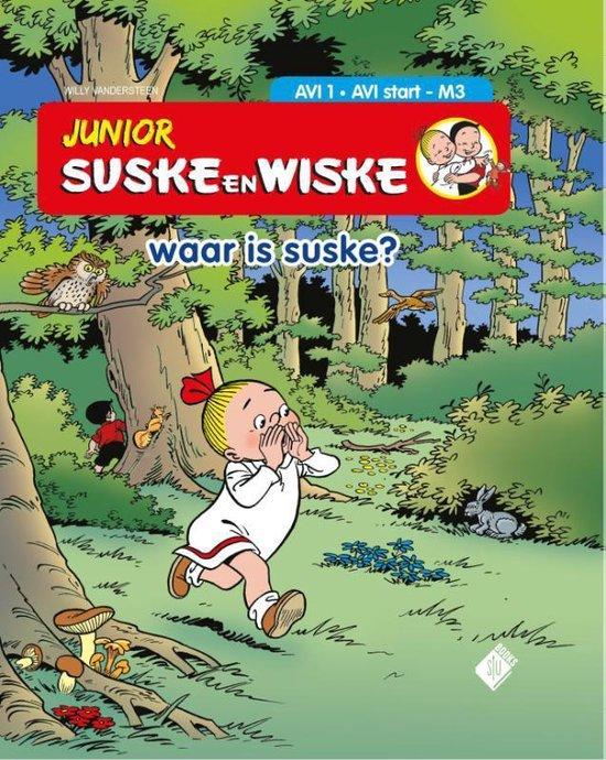 Junior Suske en Wiske- Waar is Suske? - Willy Vandersteen |