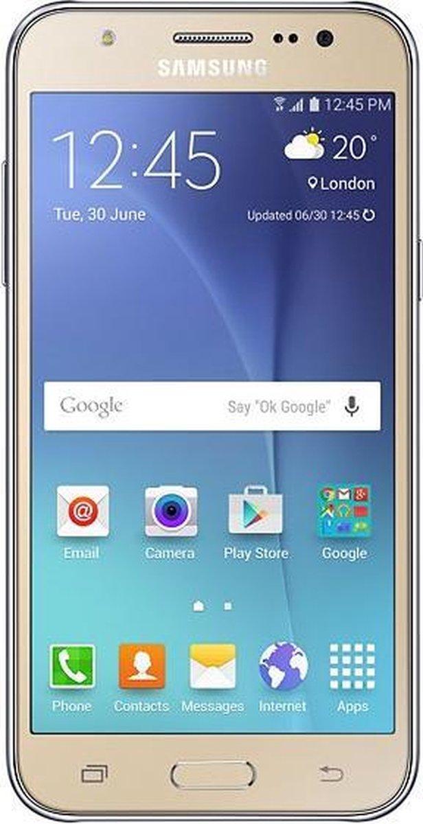 Samsung Galaxy J5 Duos Sm J500fn 12 7 Cm 5 1 5 Gb 8 Gb Dual Sim 4g Micro Usb Goud Bol Com