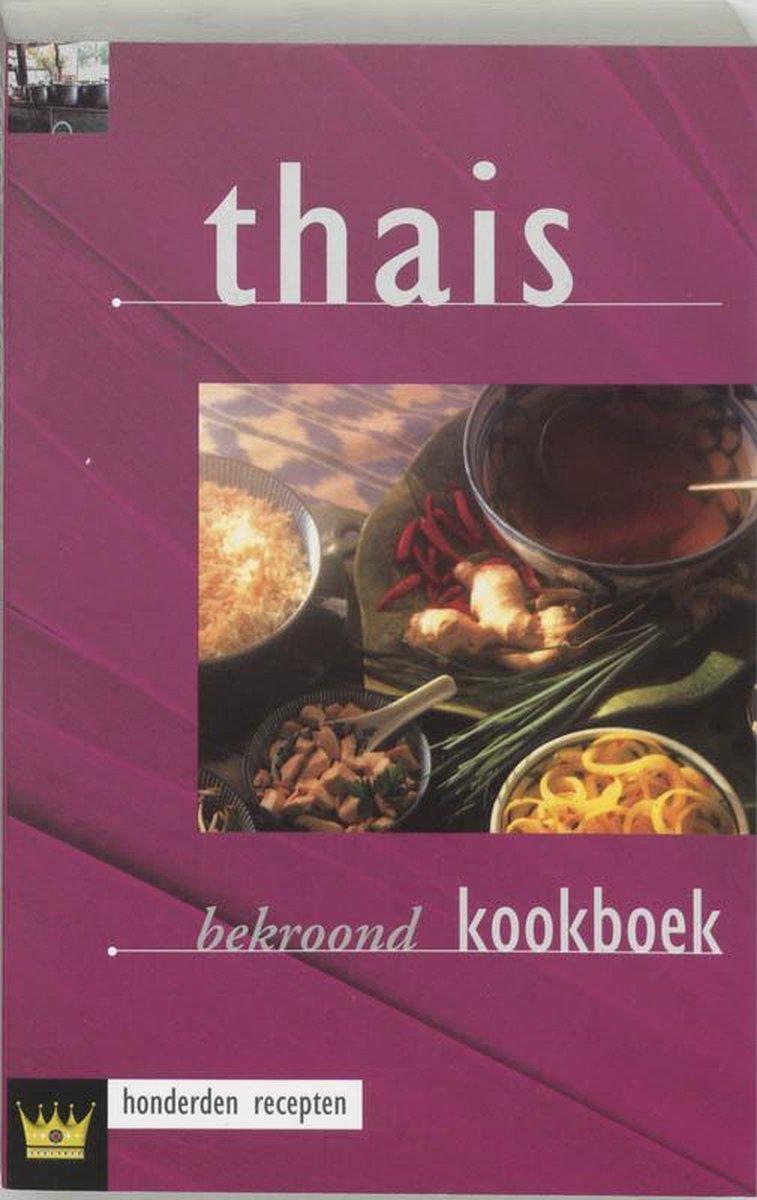Bol Com Thais Kookboek Dijkstra 9789055136391 Boeken
