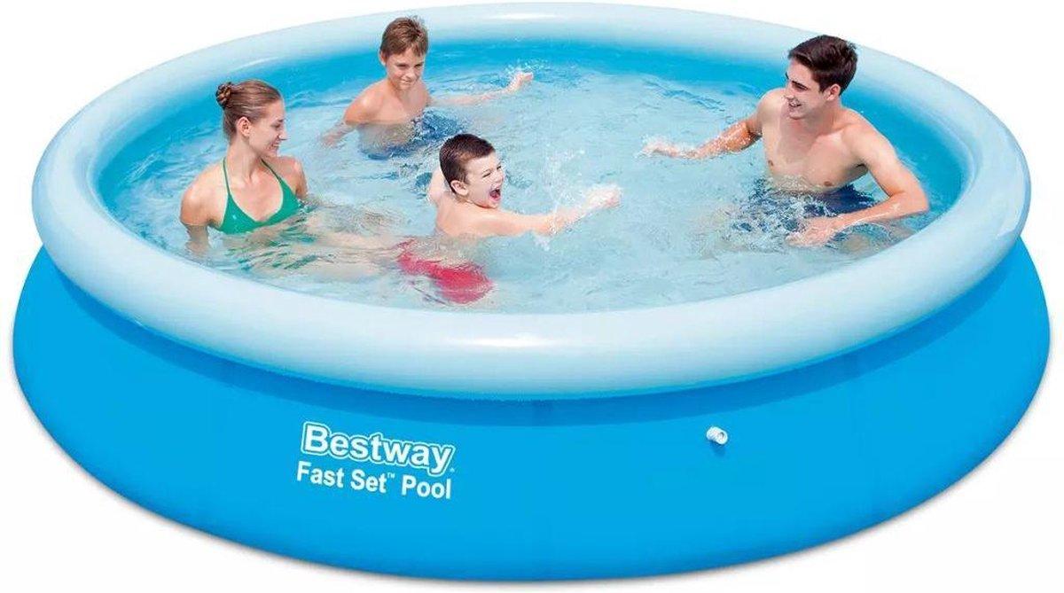 Bestway Fast Set Pool Zwembad 366 cm
