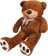 XXL Mega Teddybeer - Beer Knuffel - Grote Reuze Pluche Knuffelbeer - Teddy Bear Groot - 130CM