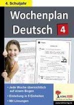 Wochenplan Deutsch 4. Schuljahr