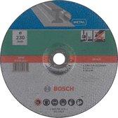 Bosch slijpschijf - Voor metaal - 230 x 3 mm - gebogen