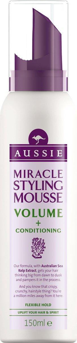 Aussie Miracle Volume & Hydratatie - 150 ml - Haarmousse - Aussie