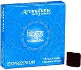 Aromafume Chakra Wierookblokjes: Vishudda - keel chakra