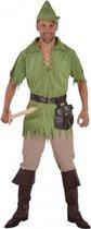 Robin Hood kostuum voor heren 64-66 (2xl)