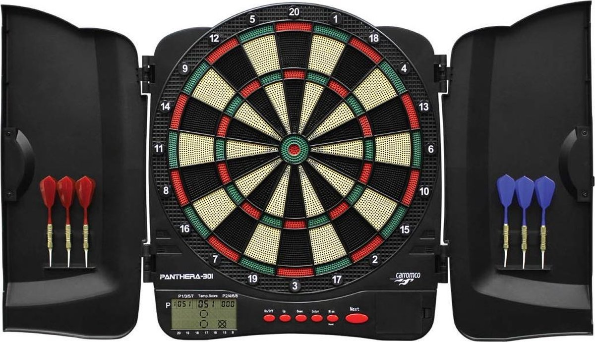 ABC Darts Elektronisch Dartbord - Panthera dartkabinet