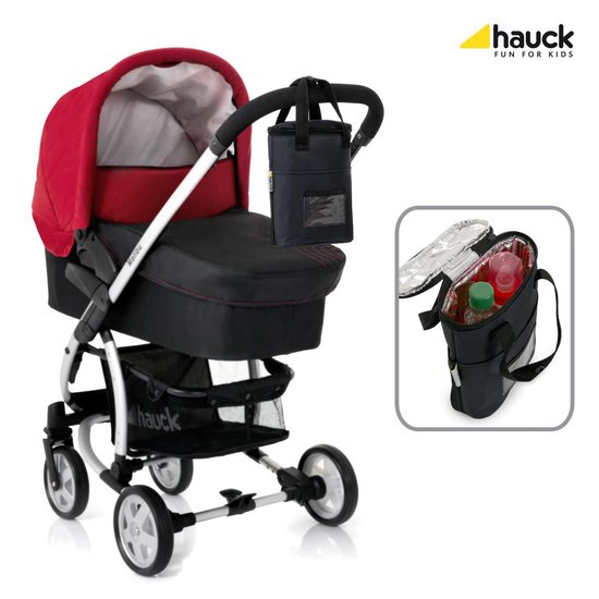 Hauck Refresh Me 2 Bekerhouder (2 flessen) baby - Zwart