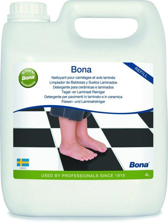 Afbeelding van Bona Harde Vloer, Tegel en Laminaatreiniger 4L