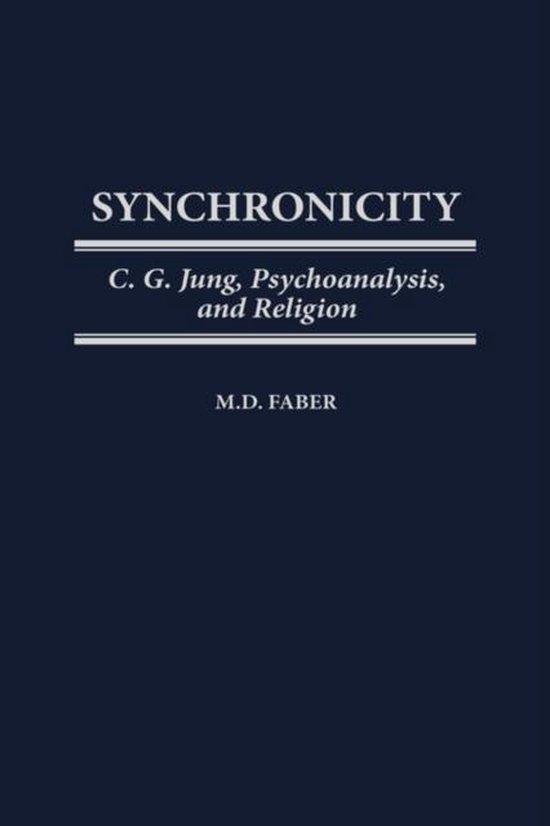 Boek cover Synchronicity van M. D. Faber (Hardcover)