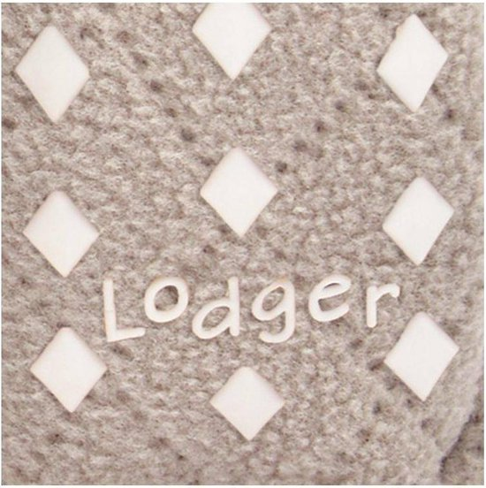 Lodger Babyslofjes - Slipper Scandinavian  - Beige - 12-18 mnd