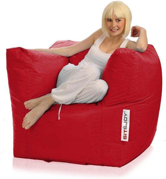 Sit En Joy Lounge Zitzak.Bol Com Sit And Joy Lounge Chair Zitzak Rood