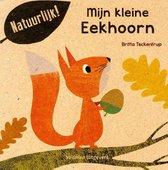 Boek cover Mijn kleine eekhoorn van Britta Teckentrup (Paperback)