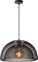 Lucide MESH Hanglamp - Ø 46 cm - 1xE27 - Zwart